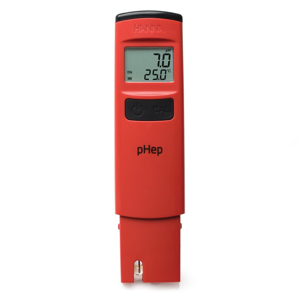 HI98107 pHep pH tester with 0.1 pH resolution