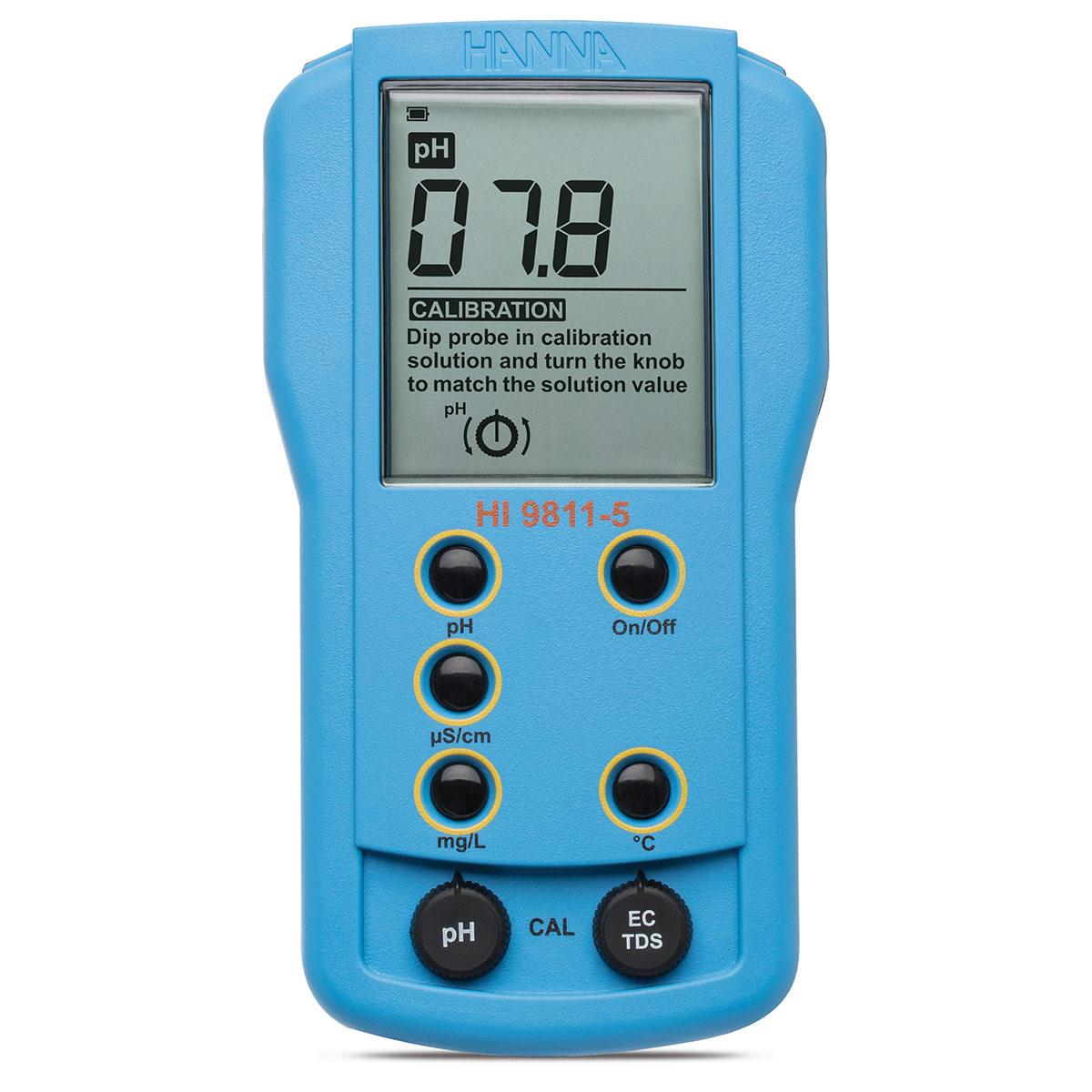 HI9811-5  - Misuratore portatile di pH/EC/TDS/Temperatura