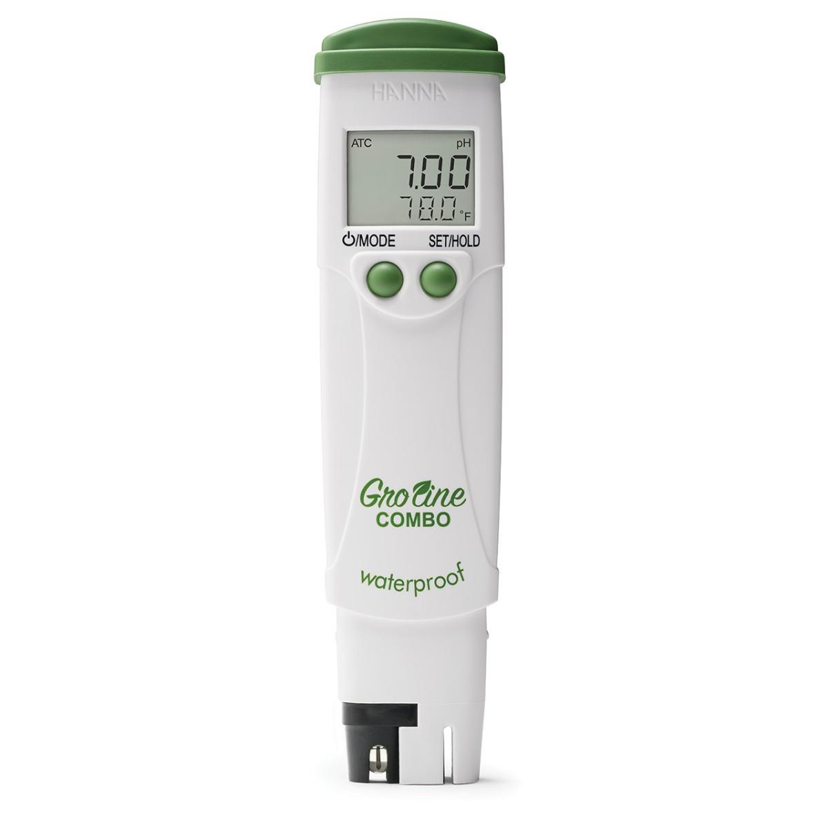 HI98131 - GroLine strumento tascabile a tenuta stagna per la misura di pH/EC/TDS/Temperatura in idroponica
