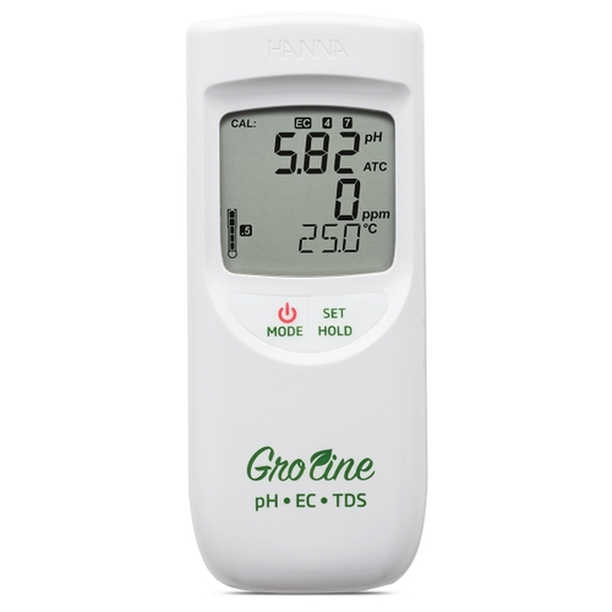 GroLine misuratore a tenuta stagna di pH/EC/TDS/Temperatura per idroponica - HI9814