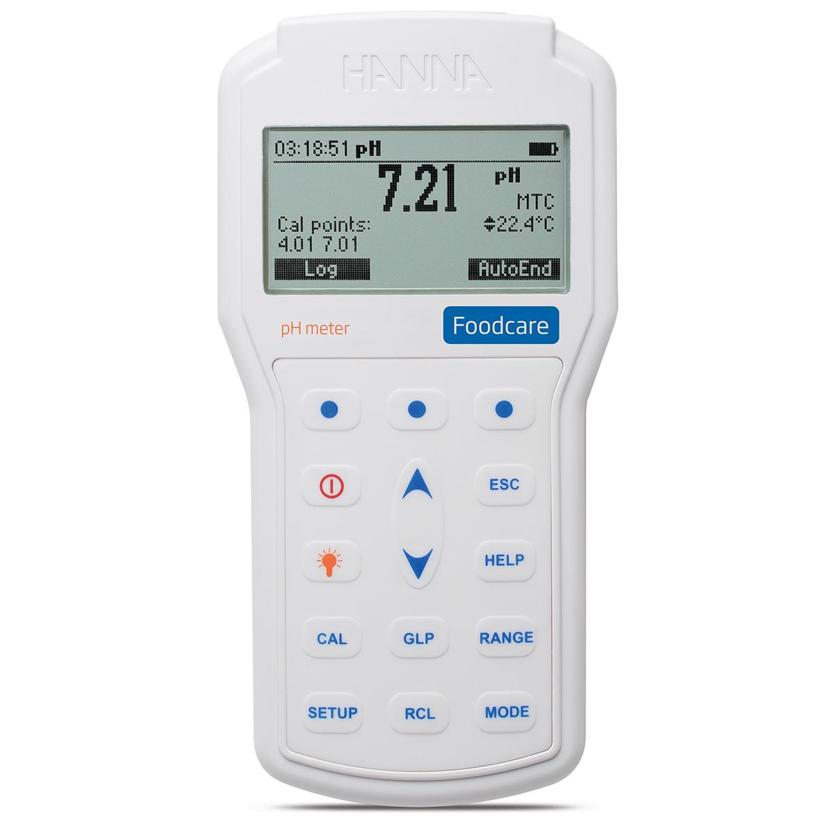 HI98161 - pHmetro portatile professionale per alimenti