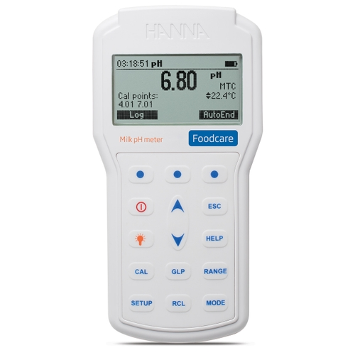 HI98162 - pHmetro portatile professionale per latte