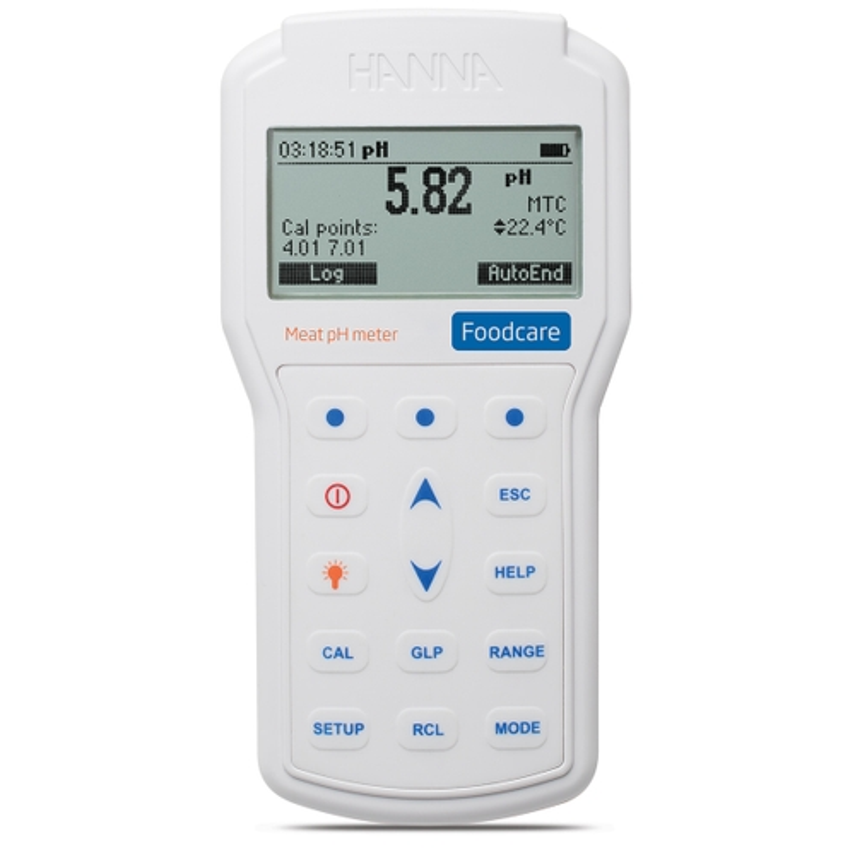HI98163 - pHmetro portatile professionale per carne