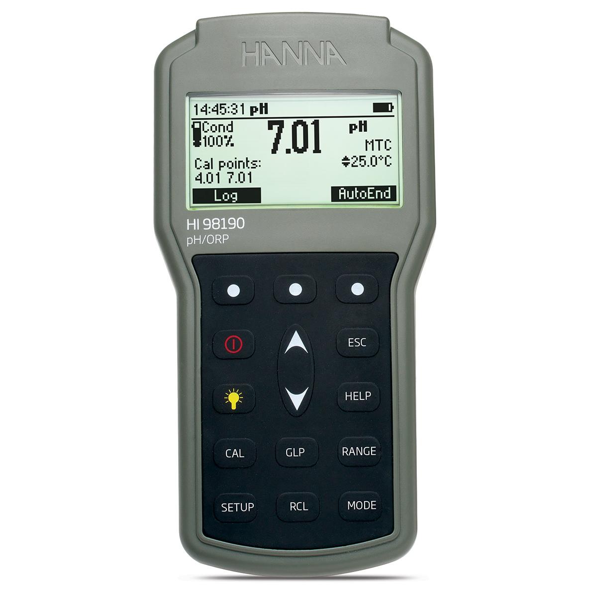 HI98190 - Misuratore portatile di pH/ORP/Temperatura a tenuta stagna