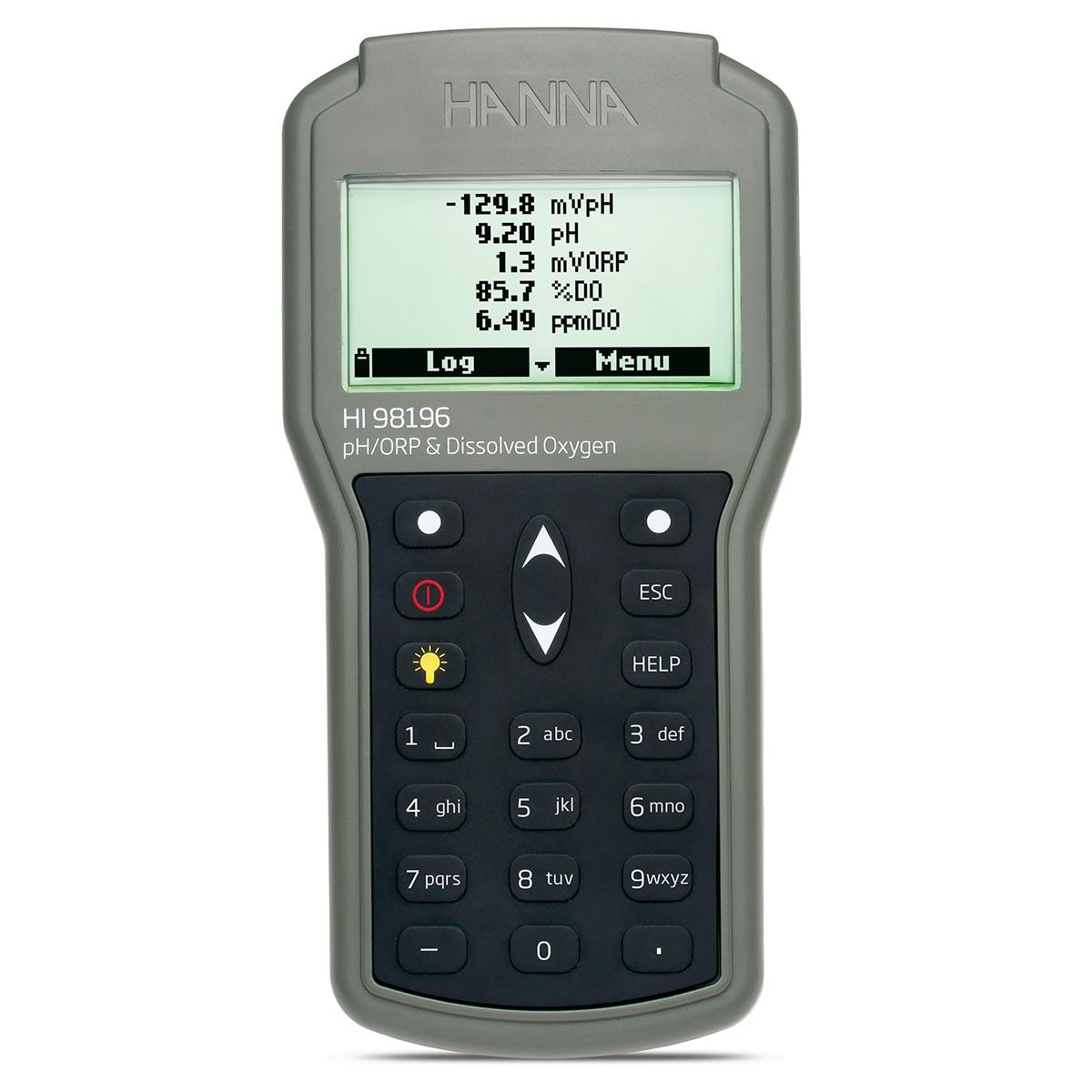 Misuratore multiparametro pH/ORP/DO/Pressione/Temperatura a tenuta stagna - HI98196