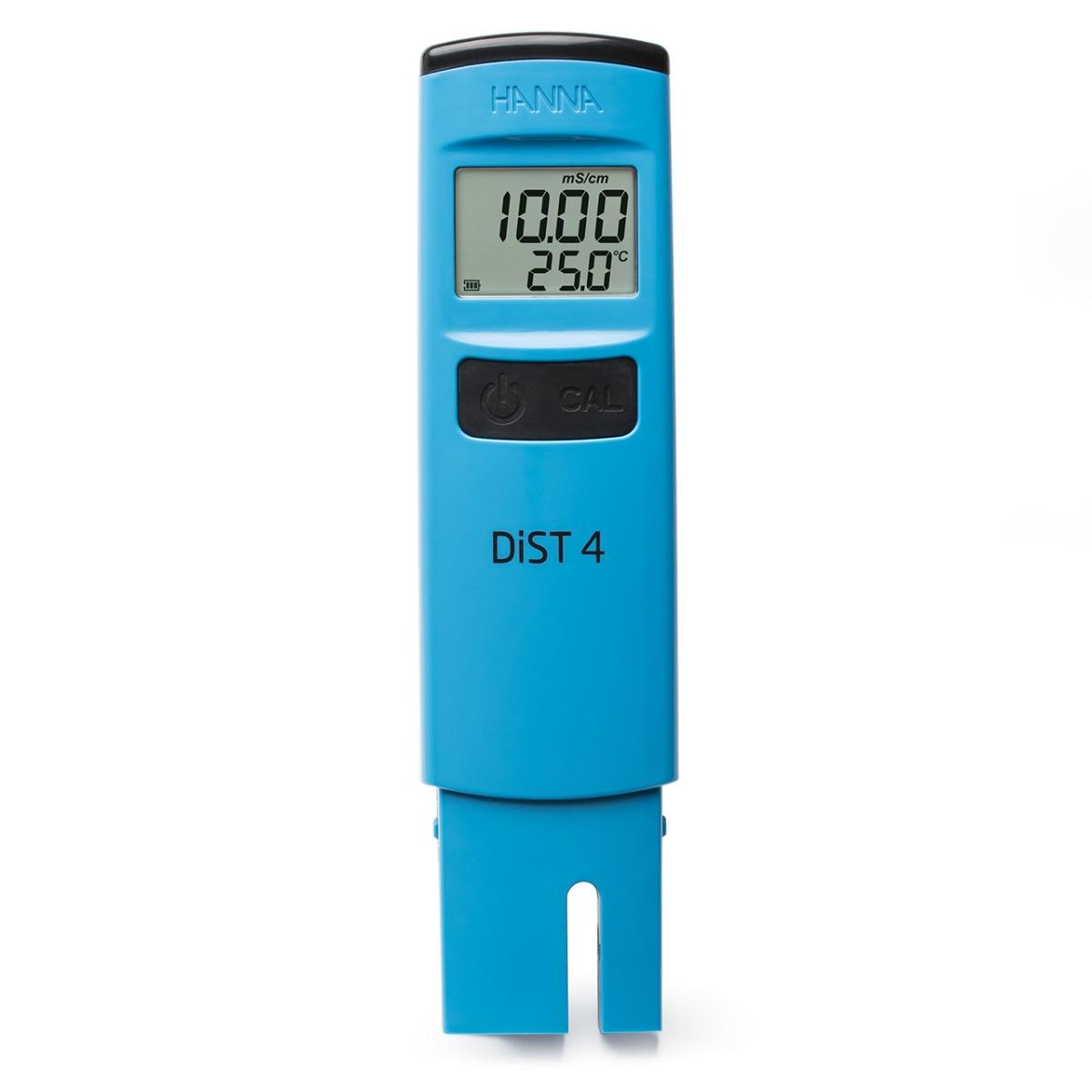 HI98304 - DiST®4 - conduttivimetro tascabile, EC scala alta (20 mS/cm)
