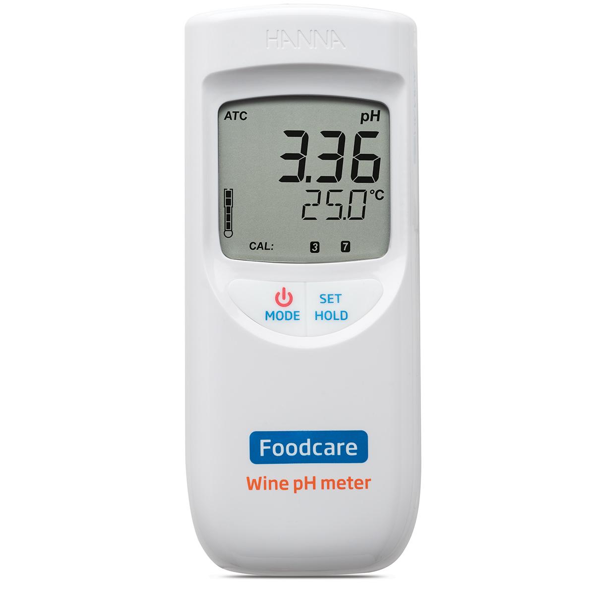 pHmetro portatile per l'analisi di vino e mosto - HI99111