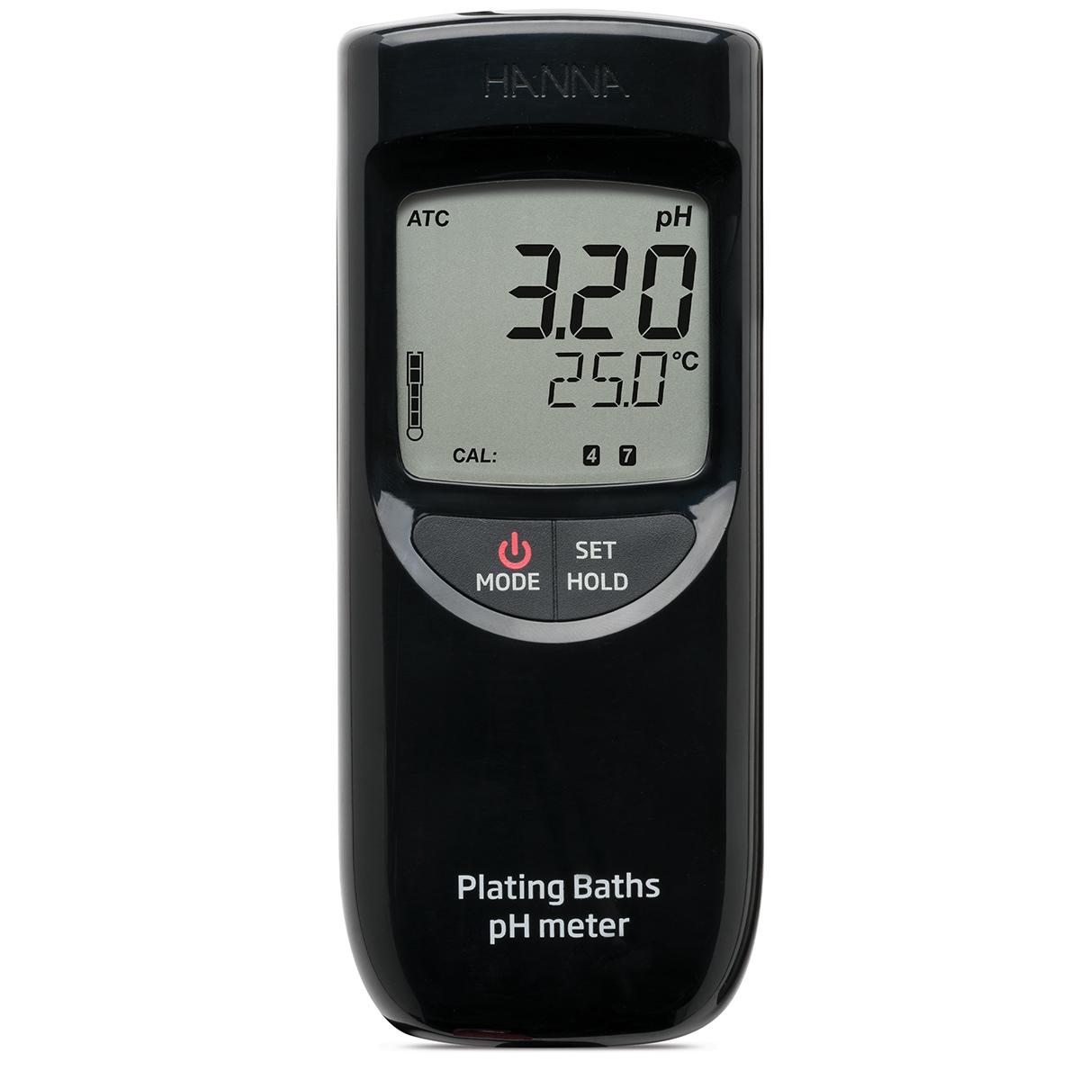 pHmetro portatile per bagni galvanici - HI99131