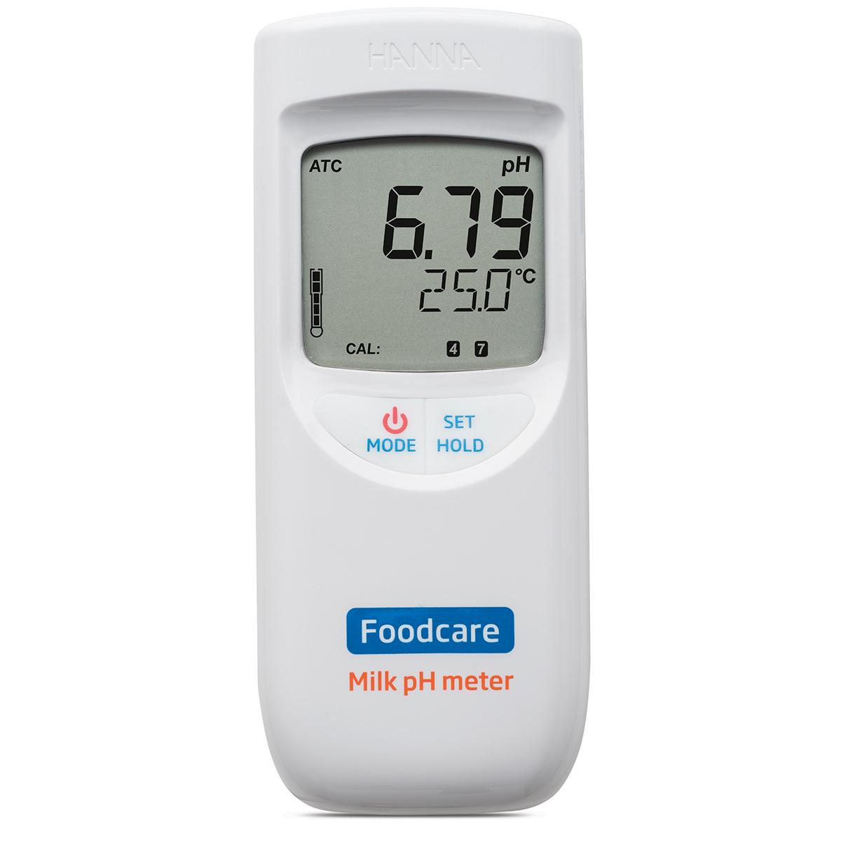 pHmetro portatile per analisi nel latte - HI99162