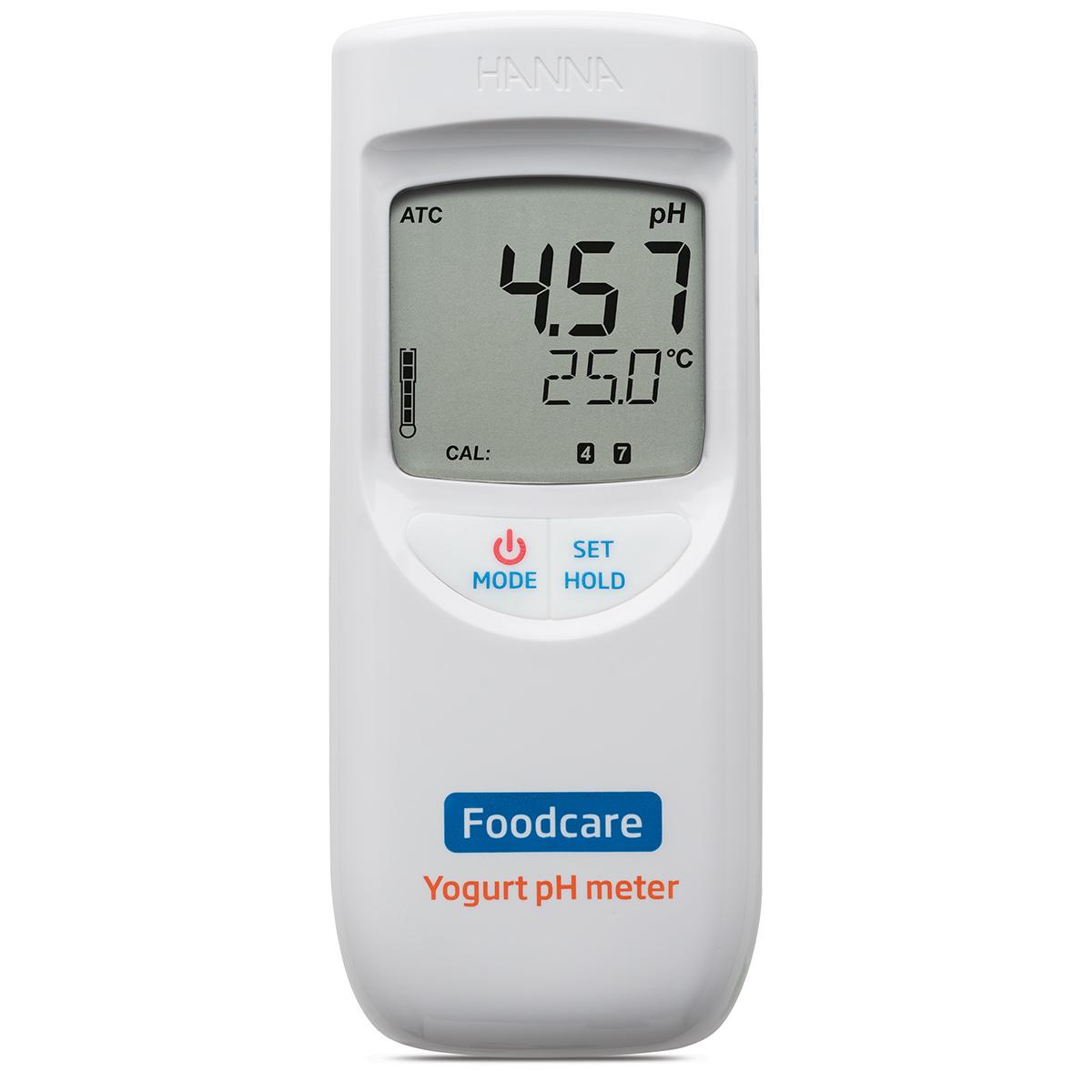 pHmetro portatile per analisi nello yogurt - HI99164