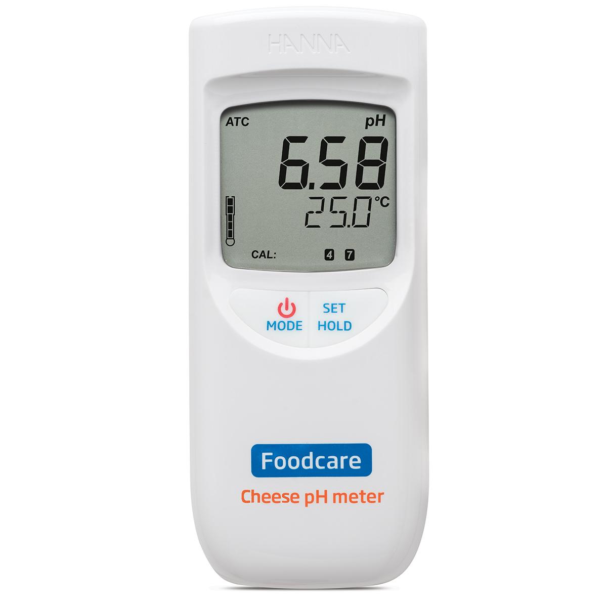 pHmetro portatile per analisi nei formaggi - HI99165