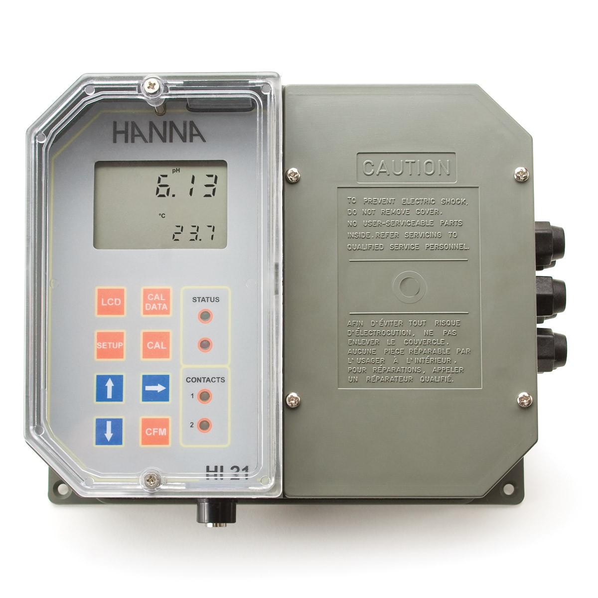 HI21211 - Regolatore pH da parete a microprocessore