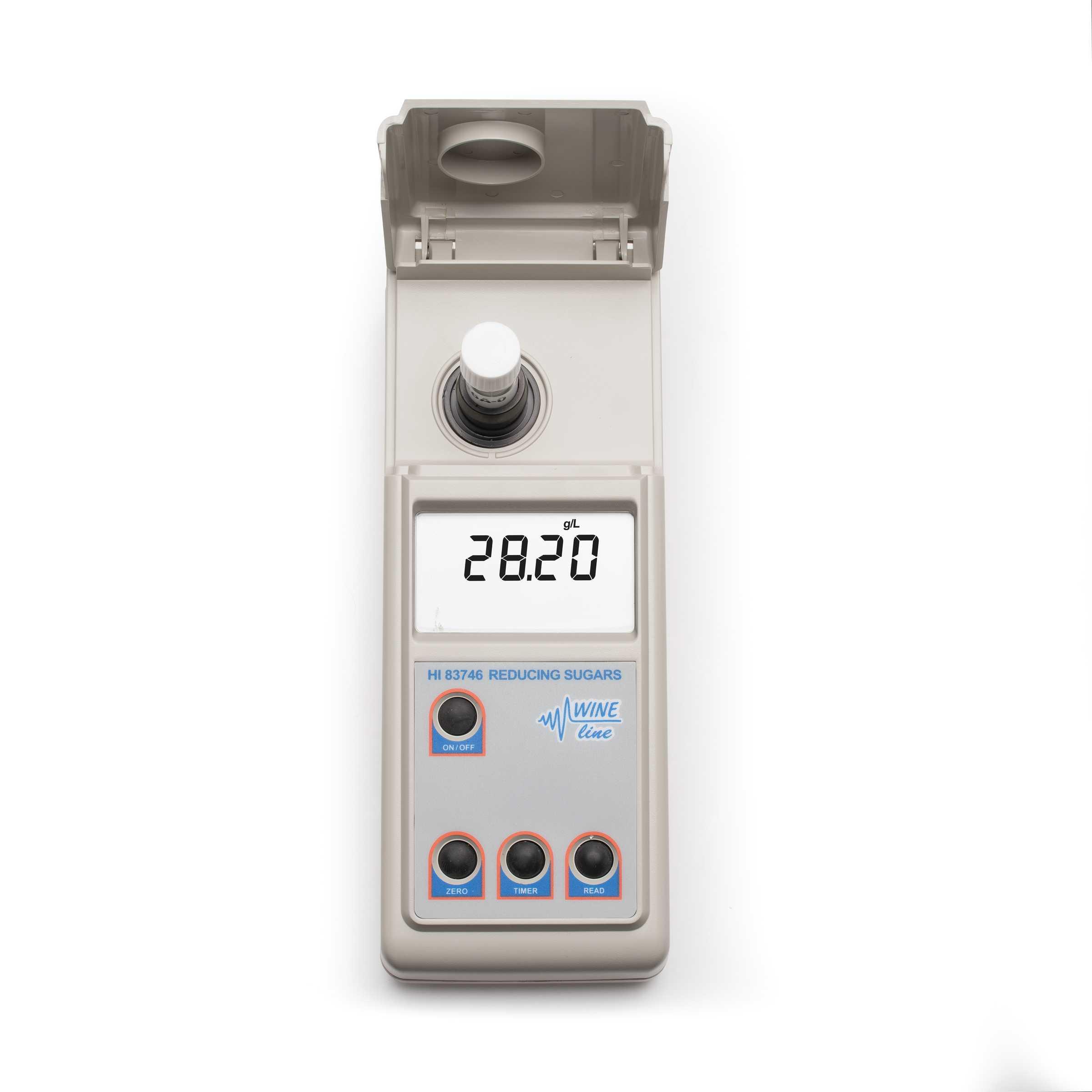 Fotometro per l'analisi del vino e degli zuccheri riducenti HI83746