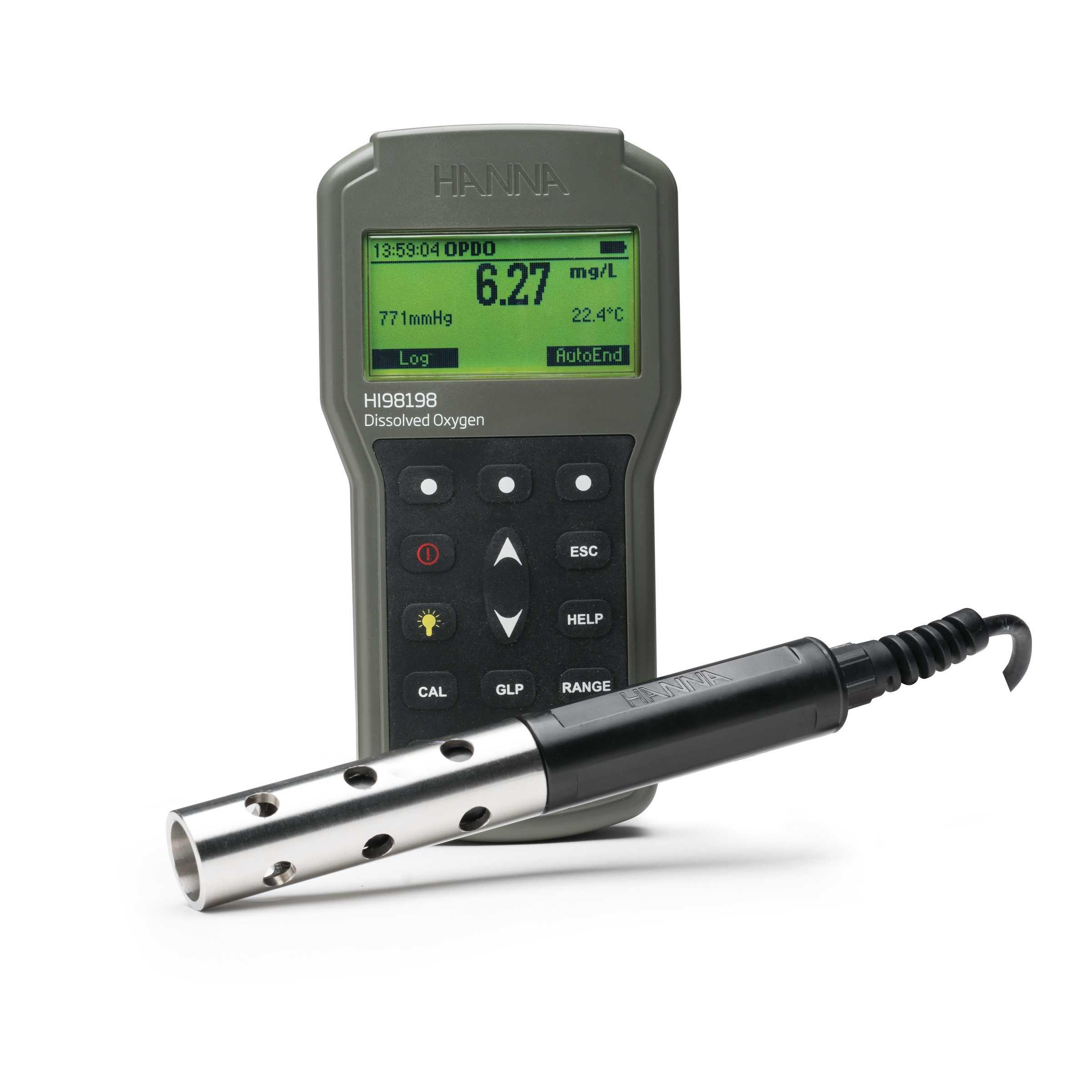Ossimetro con sensore LDO HI98198