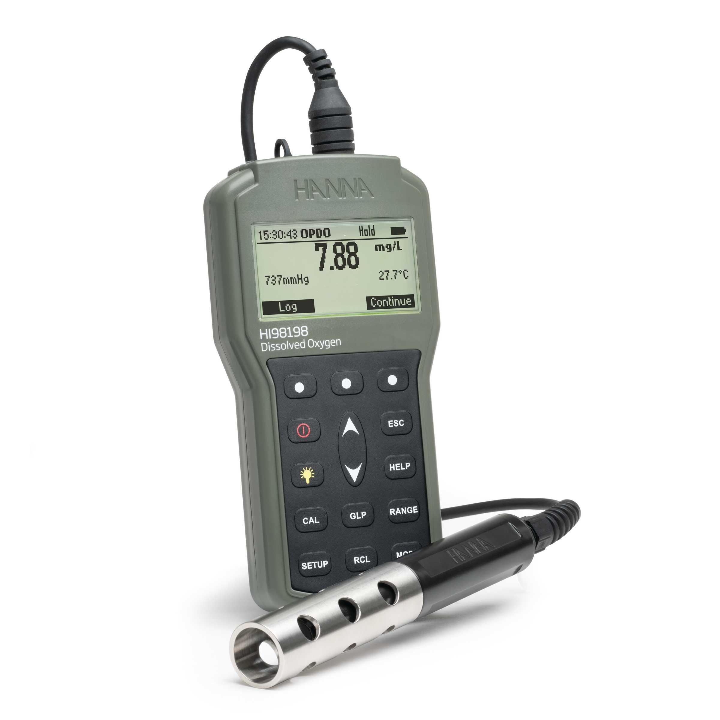 HI98198 OPDO Ossimetro Portatile