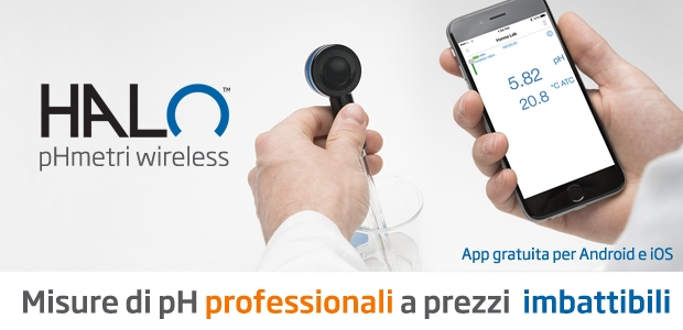 HALO phmetro wireless + app Hanna Lab gratuita