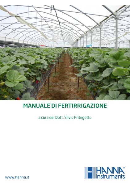 Ebook - Manuale di Fertirrigazione a cura del Dott. Silvio Fritegotto
