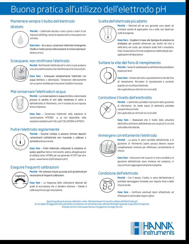 Ebook - buona pratica all'utilizzo dell'elettrodo pH