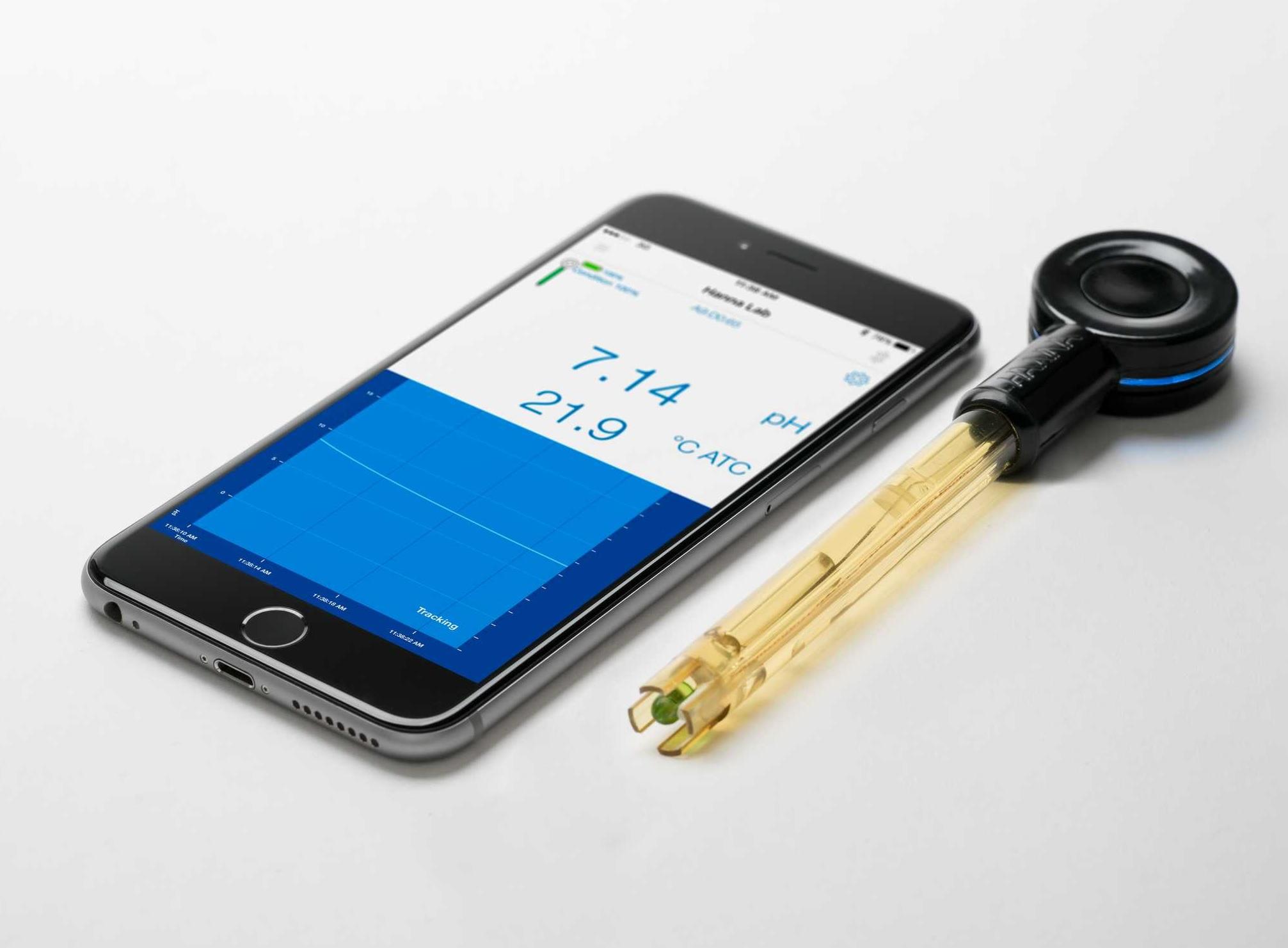 pHmetro bluetooth per acquariofilia