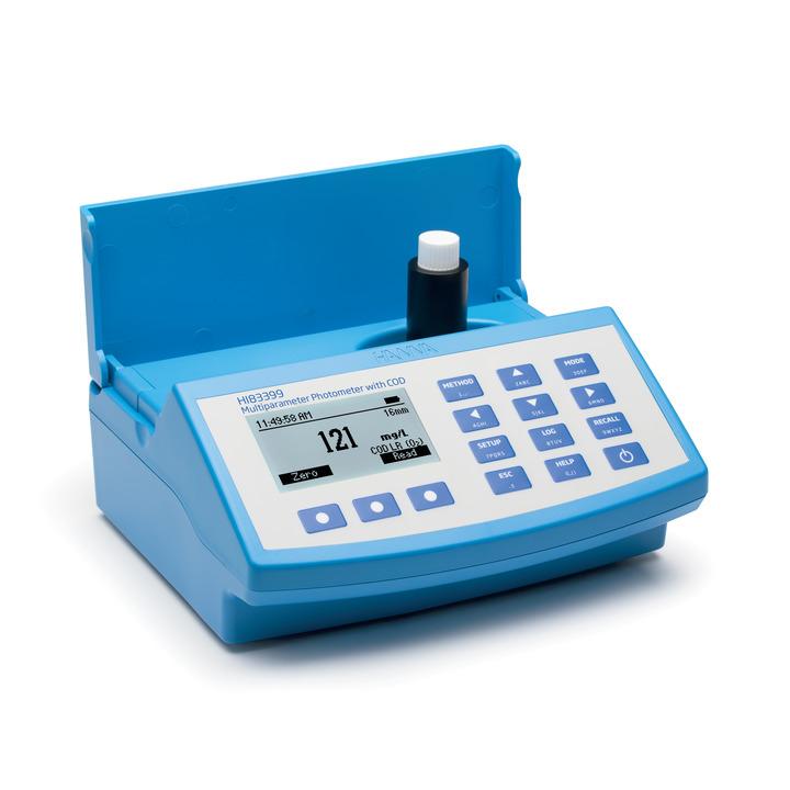 Spettrofotometro portatile IRIS con 250 metodi e determinazione COD