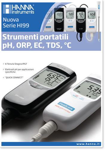 Depliant Strumenti portatili Serie HI99