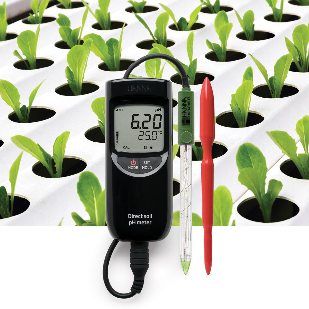pHmetro portatile per uso alimentare HI99161