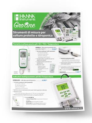 Depliant Groline Tester