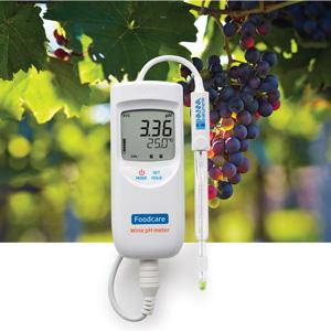 pHmetro portatile per l'analisi del vino e del mosto HI99111