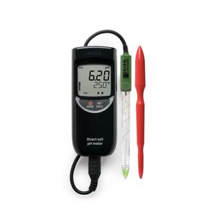 HI99121 pHmetro per misure dirette nel terreno
