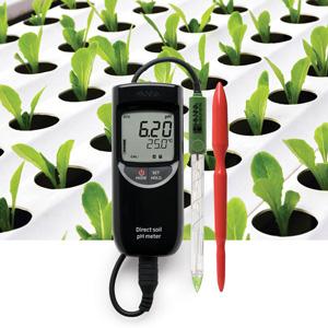 pHmetro portatile per analisi dirette nel suolo HI99121