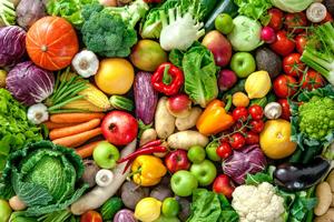 pH della verdura