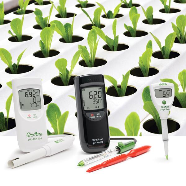 Misuratore pH terreno