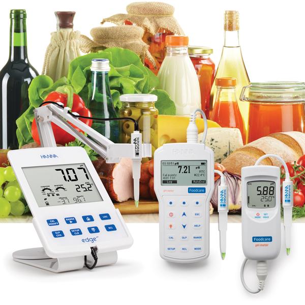 pHmetro per alimenti HANNA