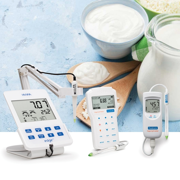 pH latte e yogurt: guida alla scelta del pHmetro