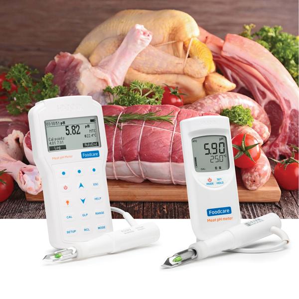 pHmetro carne e salumi HANNA