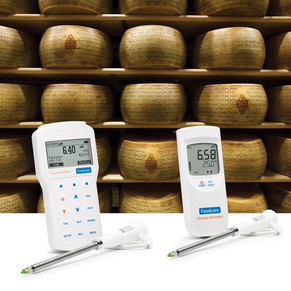 pHmetro per formaggi: guida alla scelta