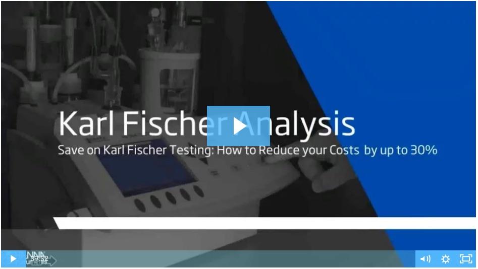 Karl Fischer titration webinar