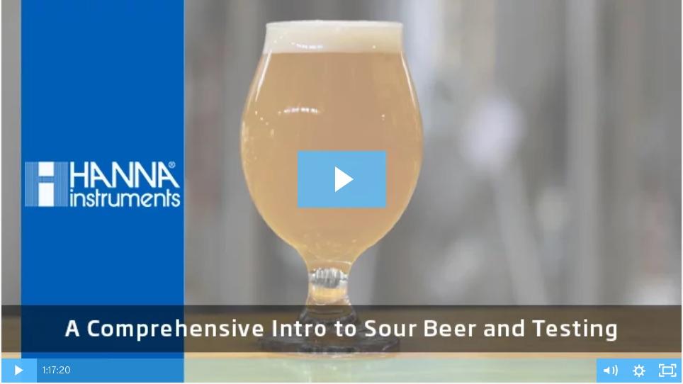 Sour beer testing