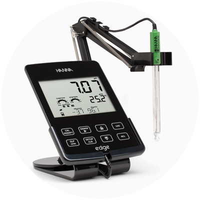 2013 — World's most innovative pH, EC and DO handheld/portable/wall-mount meter...edge®